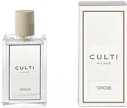 Parfums et Produits cosmétiques Spray d'ambiance, Vanille, Feuilles de figue et Bois de santal - Culti Milano Room Spray Oficus