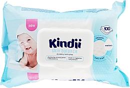 Parfums et Produits cosmétiques Lingettes humides pour bébé pour peaux normales - Cleanic Kindii Skin Balance