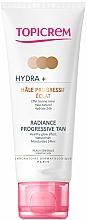Parfums et Produits cosmétiques Crème auto-bronzante progressive pour visage et cou - Topicrem Hydra+ Radiance Progressive Tan