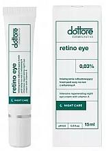 Parfums et Produits cosmétiques Crème de nuit à la vitamine A 0,3% contour des yeux - Dottore Retino Eye