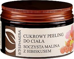 Parfums et Produits cosmétiques Gommage corporel sucré Framboise juteuse à l'hibiscus - Bosphaera