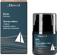 Parfums et Produits cosmétiques Crème à la vitamine C contour des yeux - _Element Men Eye Cream