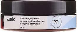 Parfums et Produits cosmétiques Crème normalisante à l'huile de cumin noir pour visage - Melo