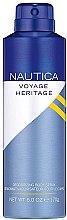 Parfums et Produits cosmétiques Nautica Voyage Heritage - Déodorant vaporisateur corporel