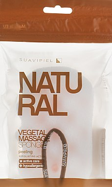 Eponge de bain - Suavipiel Natural Vegetal Massage Sponge
