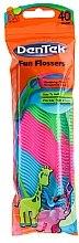 Parfums et Produits cosmétiques Cure-dents avec soie dentaire pour enfants - DenTek Wild Fruit Fun Flossers