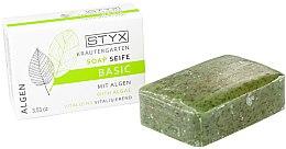 Parfums et Produits cosmétiques Savon solide démaquillant Algues marines - Styx Naturcosmetic Basic Soap With Algae