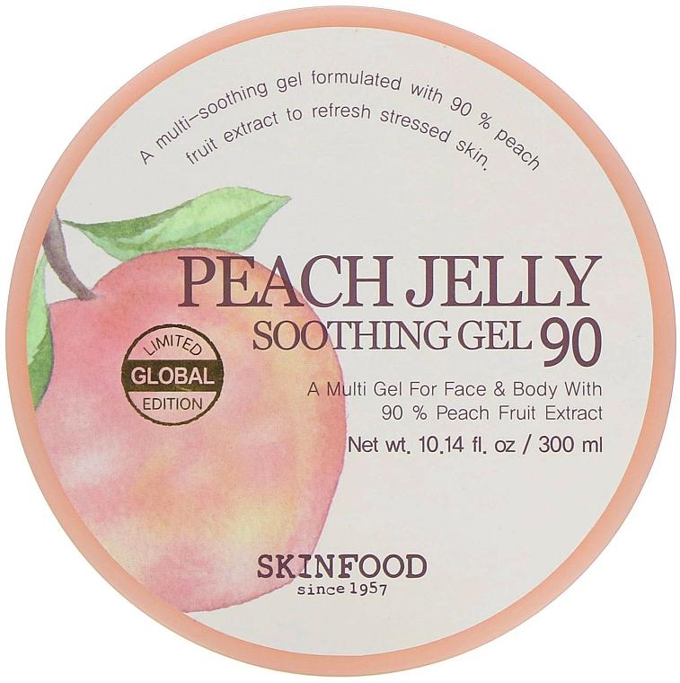Gel à l'extrait de pêche pour visage et corps - Skinfood Peach Jelly Soothing Gel
