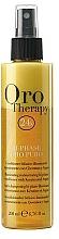 Parfums et Produits cosmétiques Après-shampooing bi-phase à la kératine - Fanola Oro Therapy