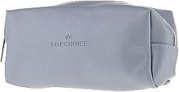 Parfums et Produits cosmétiques Trousse de toilette Leather, 96945, gris-bleu - Top Choice