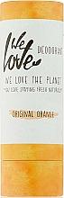 Parfums et Produits cosmétiques Déodorant stick Orange - We Love The Planet Original Orange Deodorant Stick