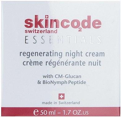 Crème de nuit à l'extrait de romarin - Skincode Essentials Regenerating Night Cream — Photo N1