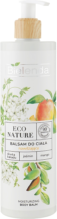 Baume au jasmin et mangue pour corps - Bielenda Eco Nature Kakadu Plum, Jasmine and Mango