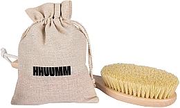 Parfums et Produits cosmétiques Brosse de massage en fibre de tampico pour corps, extra longue - Hhuumm № 5