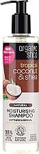 Parfums et Produits cosmétiques Shampooing hydratant à la noix de coco tropicale et beurre de karité - Organic Shop Coconut Shea Moisturising Shampoo