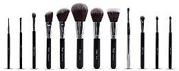 Parfums et Produits cosmétiques Kit pinceaux maquillage - Nanshy Masterful Collection Onyx Black
