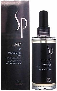 Tonique à la biotine et caféine pour cheveux - Wella SP Men Maxximum Tonic