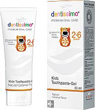 Parfums et Produits cosmétiques Dentifrice gel à l'arôme de caramel - Dentissimo Kids Toothpaste Caramel
