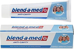 Parfums et Produits cosmétiques Dentifrice familial anti-caries - Blend-a-med Anti-Cavity Family Protect Toothpaste