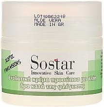Parfums et Produits cosmétiques Crème au jus d'aloe vera pour visage - Sostar Moisturizing Face Cream With Aloe Vera