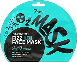 Parfums et Produits cosmétiques Masque tissu à bulles d'oxygène pour visage, Jasmine - 7 Days Bloom Gentle Cleansing Mask