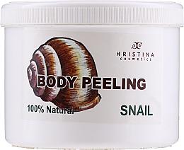 Parfums et Produits cosmétiques Exfoliant à l'extrait d'escargot pour corps - Hristina Cosmetics 100% Natural Snail Body Peeling