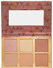 Palette de maquillage, effet éclat - Bellapierre Glowing Palette — Photo N1