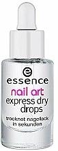 Parfums et Produits cosmétiques Gouttes séchage express - Essence Circus Circus Nail Art Express Dry Drops