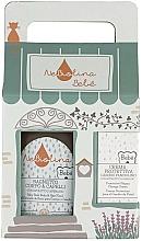 Parfums et Produits cosmétiques Coffret cadeau - NeBiolina Baby Gift Set II (body/hair/fluid/500ml+cr/100ml)