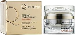 Parfums et Produits cosmétiques Crème ultime redensifiante pour visage - Qiriness Caresse Temps Sublime Light