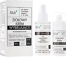 Parfums et Produits cosmétiques Set soin visage Complexe de nuit éclaircissant - DLA (crème/30g + activateur/50g)