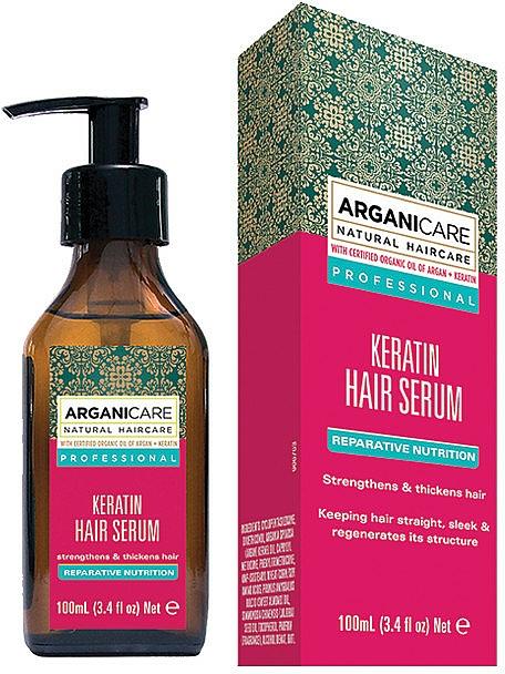 Sérum à la kératine pour cheveux - Arganicare Keratin Repairing Hair Serum