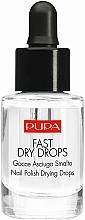 Parfums et Produits cosmétiques Gouttes séchantes pour vernis à ongles - Pupa Fast Dry Drops