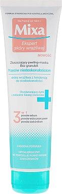 Masque exfoliant aux acides de fruits - Mixa Face Peeling Mask 3in1