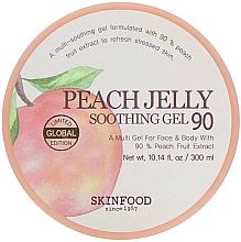 Parfums et Produits cosmétiques Gel à l'extrait de pêche pour visage et corps - Skinfood Peach Jelly Soothing Gel