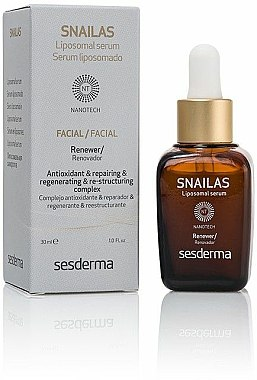 Sérum liposomal à l'extrait de raisin pour visage - SesDerma Laboratories Snailas Liposomal serum — Photo N1