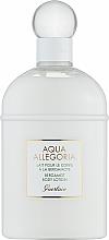 Parfums et Produits cosmétiques Guerlain Aqua Allegoria Bergamote Calabria - Lait corporel à la bergamote