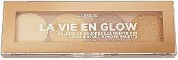 Parfums et Produits cosmétiques Palette d'enlumineurs pour visage - L'Oreal Paris La Vie En Glow Highlighting Powder Palette