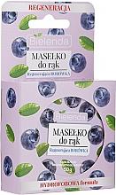 Parfums et Produits cosmétiques Beurre à l'extrait de myrtille pour mains - Bielenda Hand Butter Regenerating Blueberry