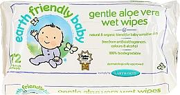 Parfums et Produits cosmétiques Lingettes douces imprégnrées d'aloe vera pour bébé - Earth Friendly Baby Aloe Vera Wet Wipes