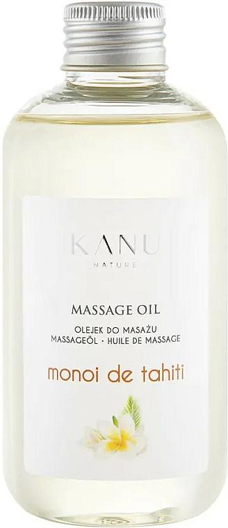 Huile de massage Monoï de Tahiti - Kanu Nature Monoi de Tahiti Massage Oil