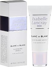 Parfums et Produits cosmétiques Élixir blanc absolu éclaircissant pour visage - Isabelle Lancray Blanc De Blanc Pure White Elixir