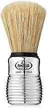 Parfums et Produits cosmétiques Blaireau de rasage, 10081, argent - Omega