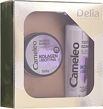 Parfums et Produits cosmétiques Delia Cameleo - Set (shampooing/250ml + masque pour cheveux/200ml)