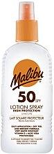 Parfums et Produits cosmétiques Lait solaire pour corps - Malibu Sun Lotion Spray High Protection Water Resistant SPF 50