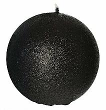 Parfums et Produits cosmétiques Bougie décorative, boule, noir, 8 cm - Artman Glamour
