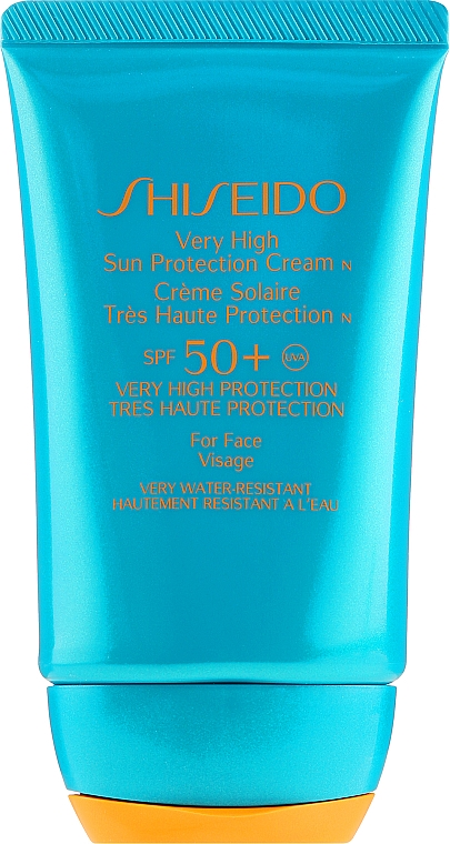 Crème solaire waterproof pour visage - Shiseido Very High Sun Protection SPF50 — Photo N2