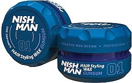 Parfums et Produits cosmétiques Cire coiffante - Nishman Hair Styling Wax 01 Gumgum