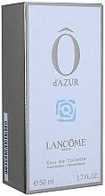 Parfums et Produits cosmétiques Lancome O d`Azur - Eau de Toilette