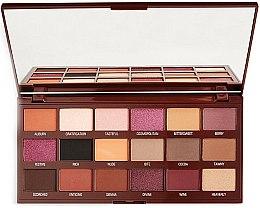 Parfums et Produits cosmétiques Palette de fards à paupières - Makeup Revolution I Heart Revolution Cranberries & Chocolate Palette